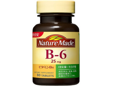 Nature Made Vitamin B6 (80 grains)
