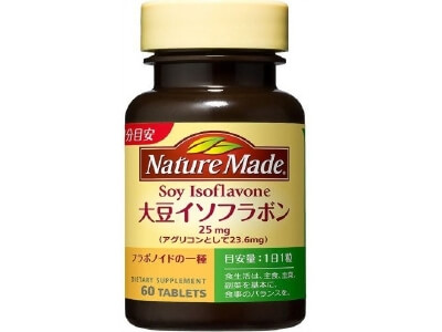 Nature Made F soy isoflavones (60 tablets)