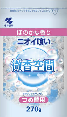 Kobayashi Pharmaceutical Faint Smell space refill soap (270G)