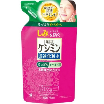 Kobayashi Pharmaceutical Keshimin liquid refreshing Refill (140ML)