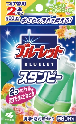 Kobayashi Pharmaceutical blue toilet Stan copy wearing 56g green forest scent for replacement