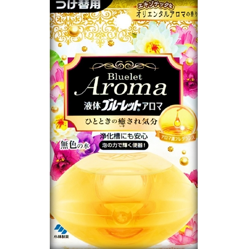 70ml Refill wearing fragrance only of aroma exotic oriental aroma put Kobayashi Pharmaceutical liquid blue toilet
