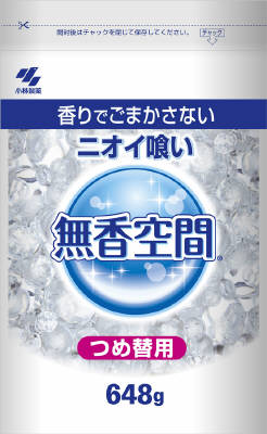 Kobayashi Pharmaceutical unscented space oversized refill (648G)