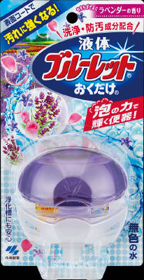 Scent of 70ml lavender only put Kobayashi Pharmaceutical liquid blue toilet