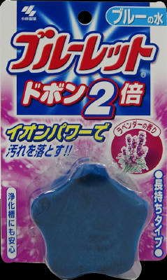Kobayashi Pharmaceutical blue toilet Dobon twice 120g scent of lavender