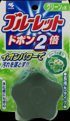 Scent of Kobayashi Pharmaceutical blue toilet Dobon twice 120g herbs