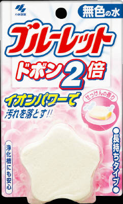 Scent of Kobayashi Pharmaceutical blue toilet Dobon twice 120g colorless soap