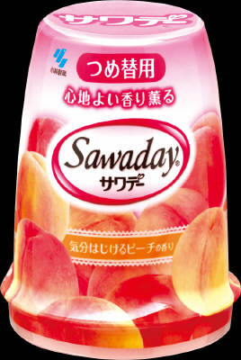 140g mood sparkling scent of peach for a replacement put Kobayashi Pharmaceutical smell fragrant Sawasdee