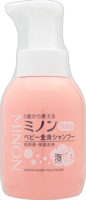 Minon Baby Whole Body Shampoo (350ml)