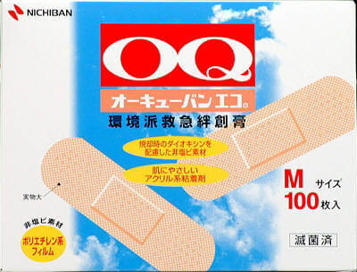 OQ BAN ECO? First-Aid Bandage M size
