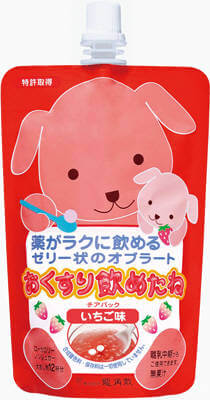 Medicine-Masking Jelly - Strawberry (200g Pouch)