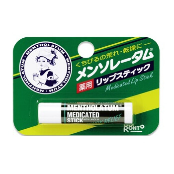 Rohto Mentholatum term medicated lip stick 4.5G