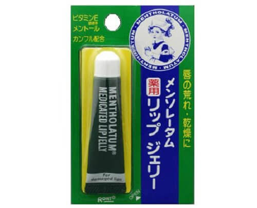 Rohto Mentholatum Medicated Lip Jelly (8.G)