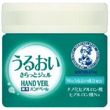 Rohto Mentholatum Medicated hand V moisture further and Gel (90G)