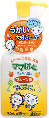 ROHTO Mama-Hug Gargle, Mouthwash (150ML) Fruit