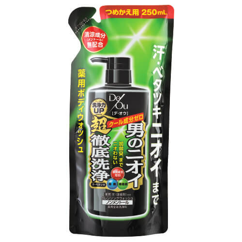 Rohto de Ou medicated cleansing W non menthol exchange (250ML)