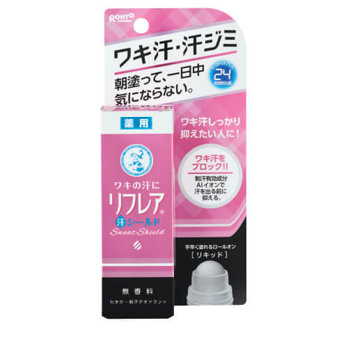 Rohto Refrea Sweat Shield Perfect Liquid (30ML)