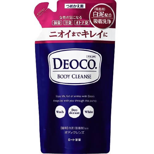 Rohto Deoko Medicated Body Cleanse Refill 250ml