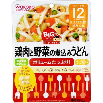 BIg Gugu Stew Noodles with Chicken and Vegetables (120g)