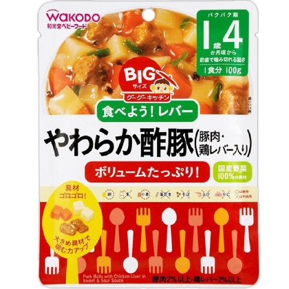 BIg Goo Goo kitchen and straw sweet and sour pork (100g)