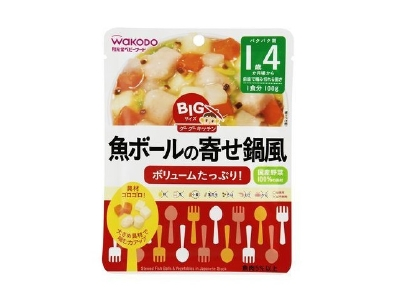 Yosenabe style of Goo Goo kitchen fish balls of BIG size (100g)