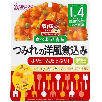 BIG Goo Goo kitchen minced fish Western-style stew of size (100g)