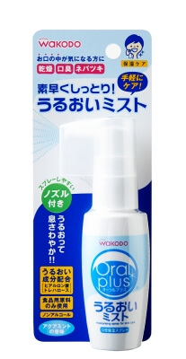 Oral plus oral spray moisturizing mist (50ml) of Aqua mint flavor