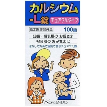 "Calcium L lock ""Kunihiro"" 100 tablets"