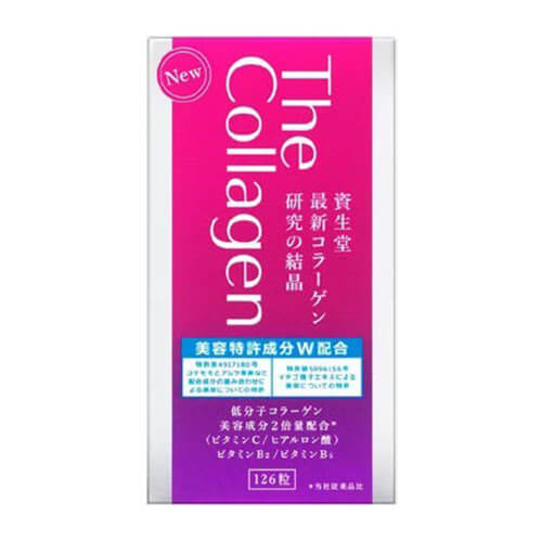 SHISEIDO The Collagen Tablets W (126 Tablets)