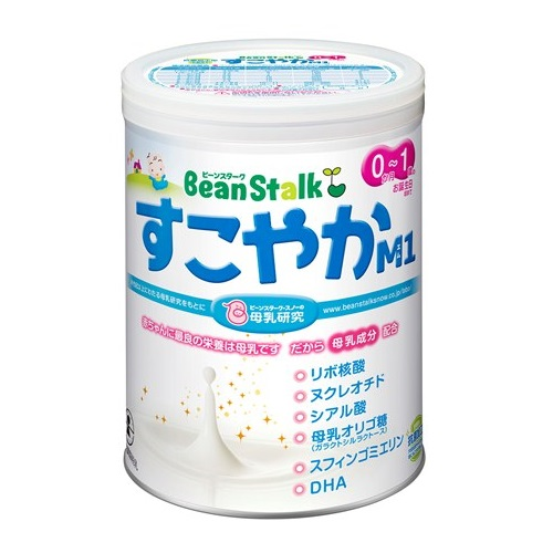 Bean Stalk Powdered Milk Sukoyaka M1 (Big Can) 800g