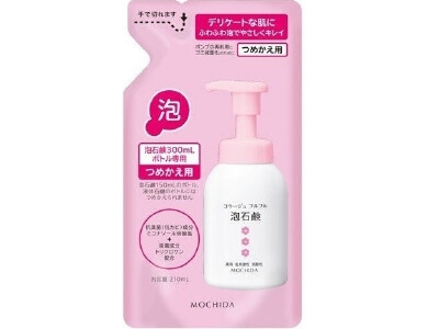 Collage Furu Furu Bubble Soap Pink Refill (210ml)