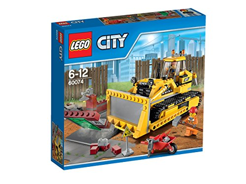 LEGO (LEGO) City powerful bulldozer 60074