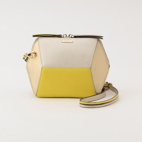 [LOVELESS] WOMEN color blocking BOX shoulder bag