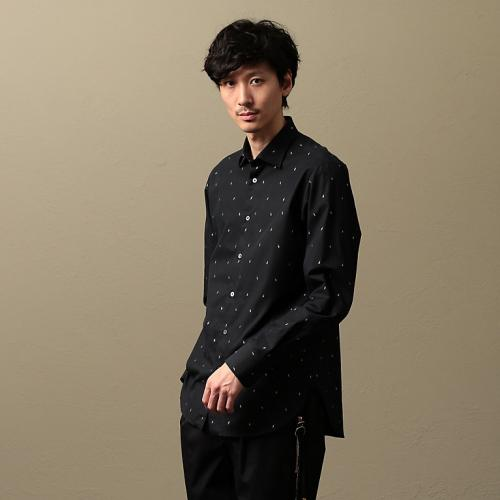 [Education from Youngmachines] MEN Lightning shirt