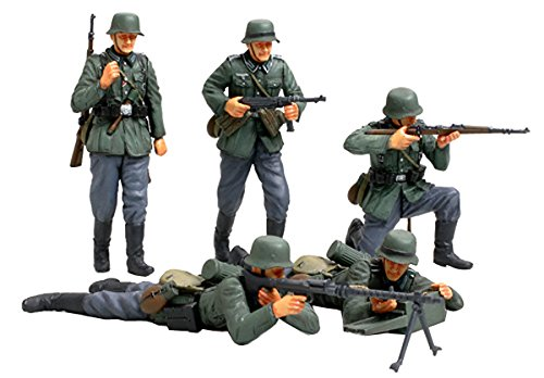 Tamiya 1/35 Military Miniature Series No.293 German infantry set (France Front)