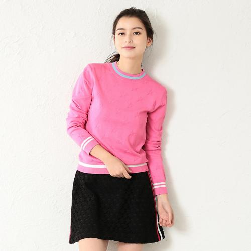 [GUILD PRIME] WOMEN star jacquard knit