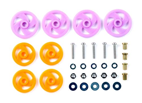 Tamiya grade up No.381 GP.381 low-friction plastic roller set 15381