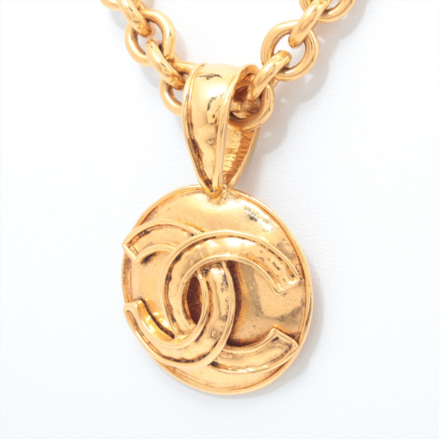 [Used goods] Chanel necklace metal material Gold 94P here mark