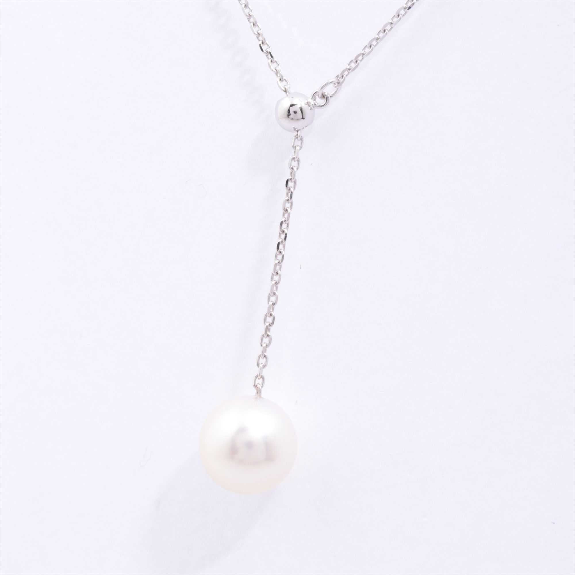 [Used article] Tasaki pearl necklace K18 2.4g 7.6mm