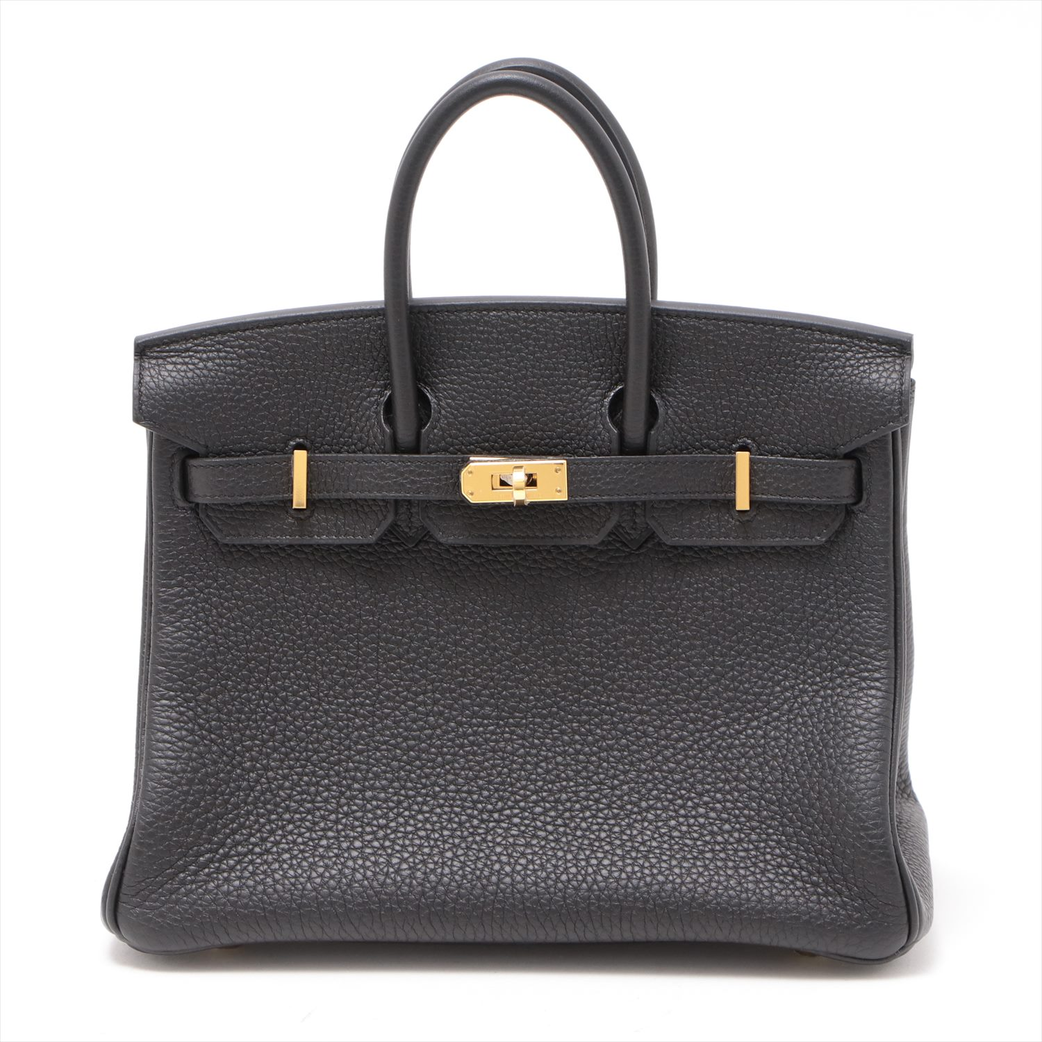 [Used goods] Hermes Birkin 25 Togo Black Gold Hardware C: 2018 years