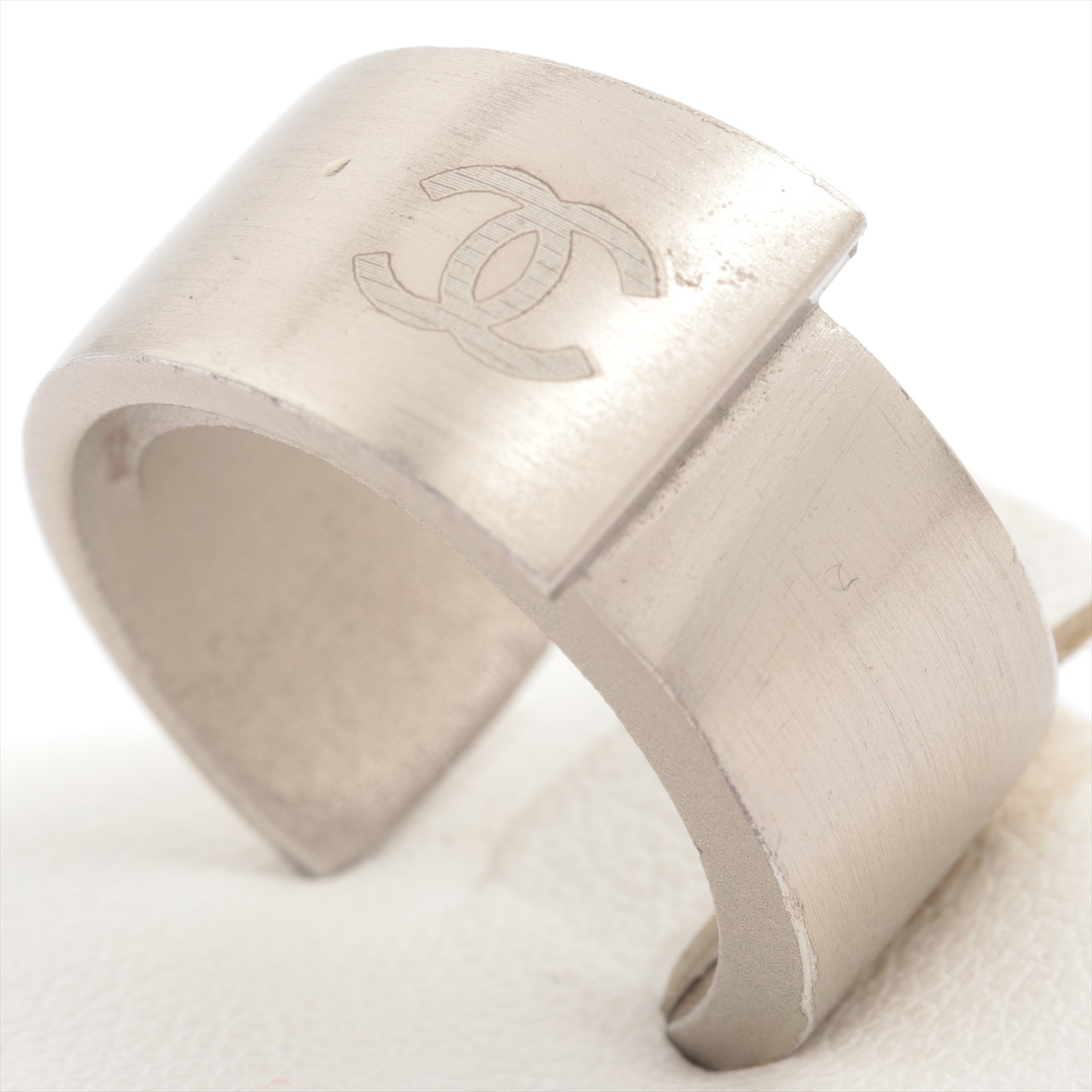 [Used goods] Chanel Coco mark ring metal material silver 00A