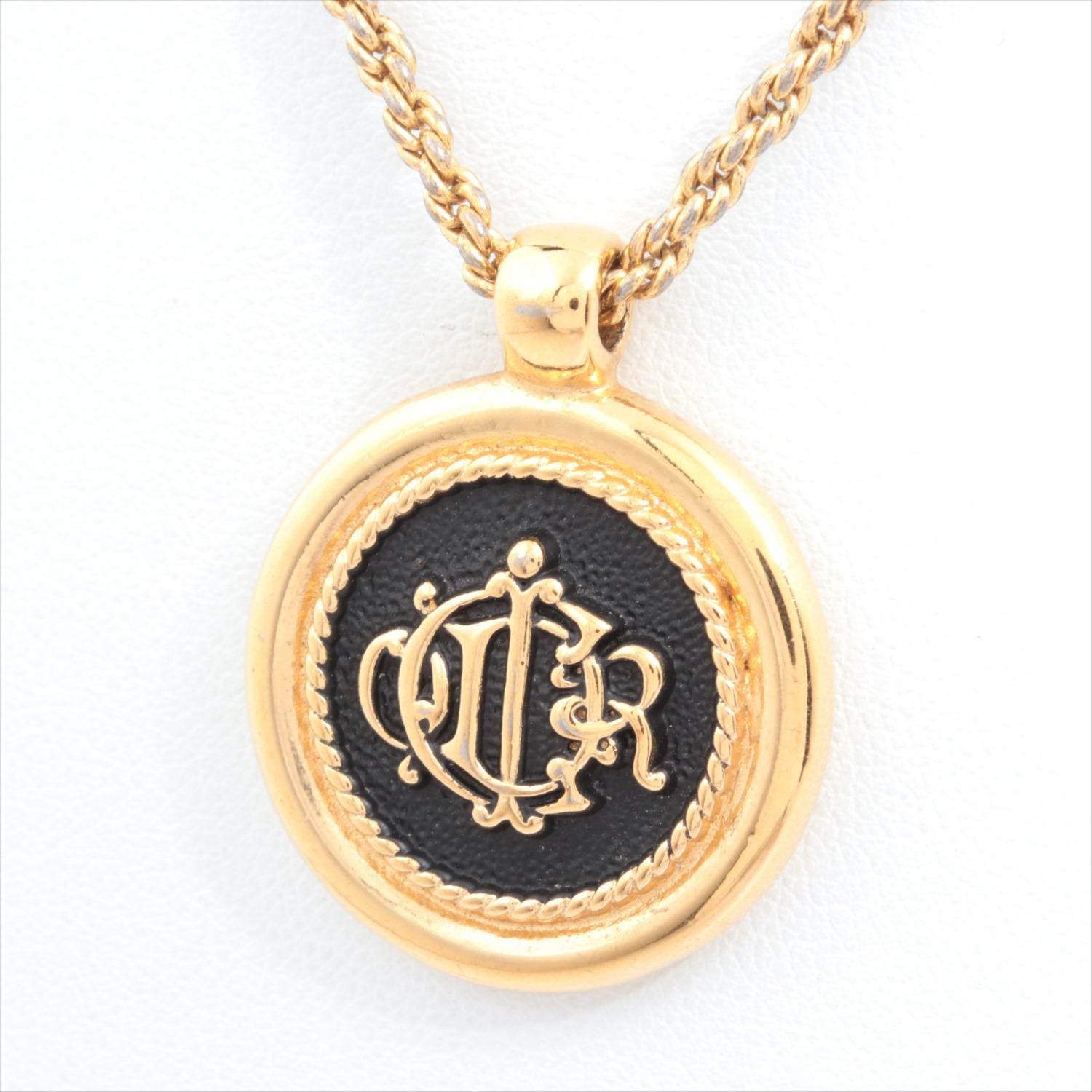 [Used article] Christian Dior necklace metal material Gold