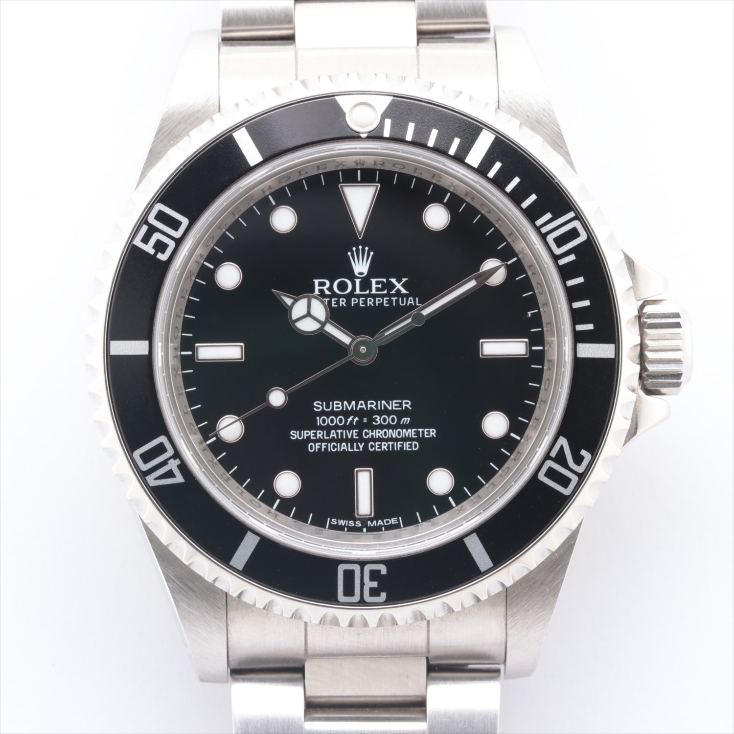 [Used goods] Rolex Submariner 14060M SS AT black board too much sesame seeds 2