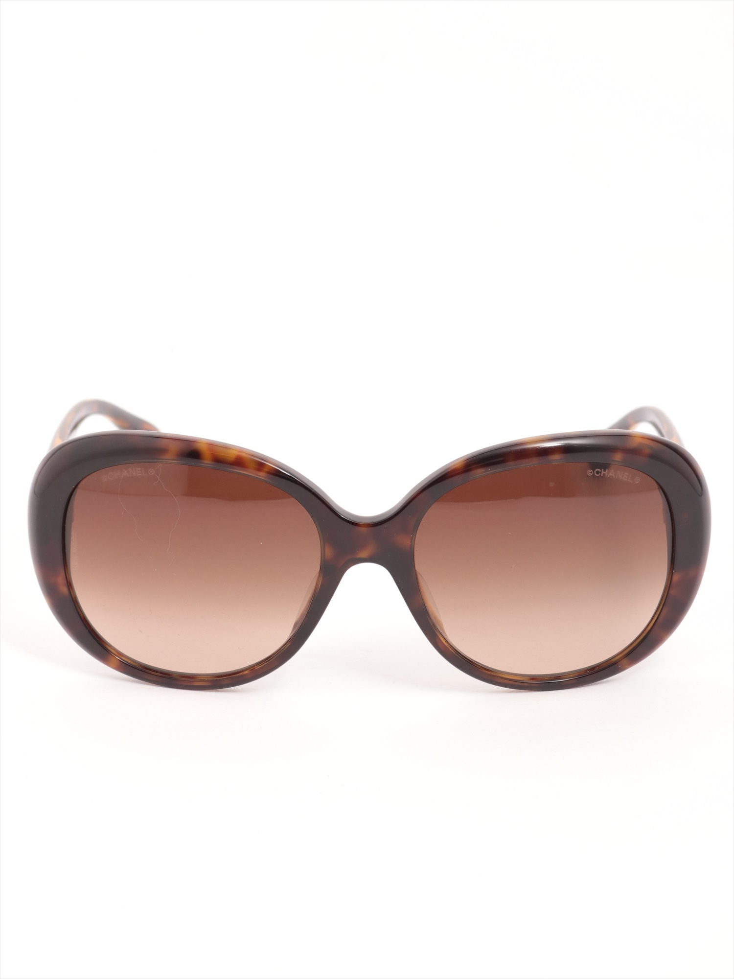 [Used goods] Chanel Coco mark sunglasses plastic Brown 5312-A