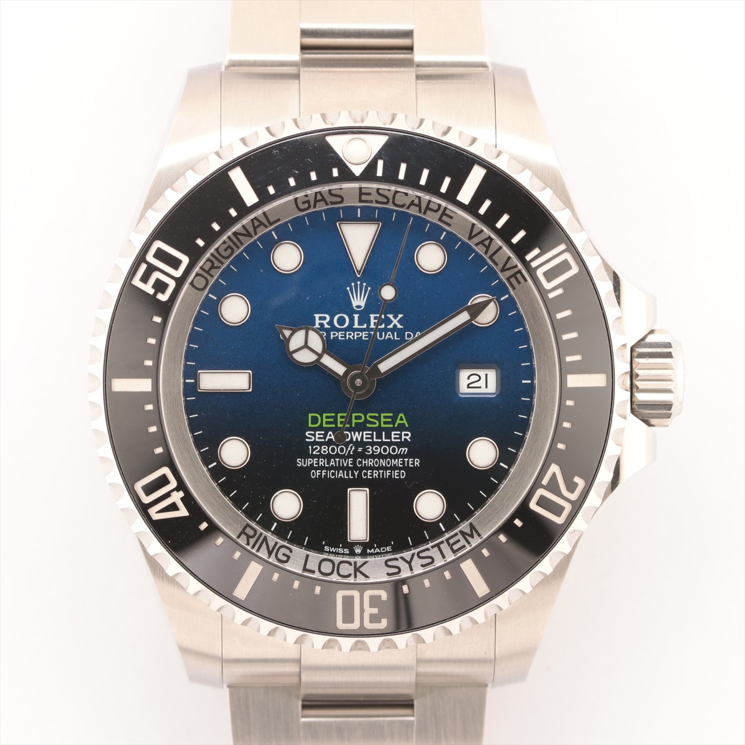 [Used goods] Rolex Sea-Dweller Deep Sea 126660 SS AT blue dial