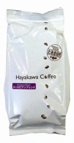 [Hokkaido roasted] regular coffee European blend ground beans capacity 500g