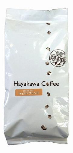 [Hokkaido roasted] regular coffee mild blend ground beans capacity 500g