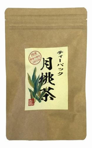 [100% domestic] Tsukimomocha 2g × 20 pack tea bags decaffeinated Okinawa Prefecture pesticide-free