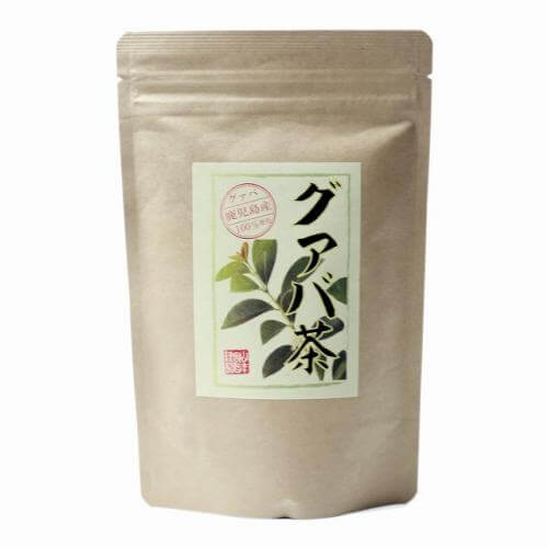 [100% domestic] guava tea 3g × 16 packs tea pack decaffeinated Kagoshima Prefecture pesticide-free