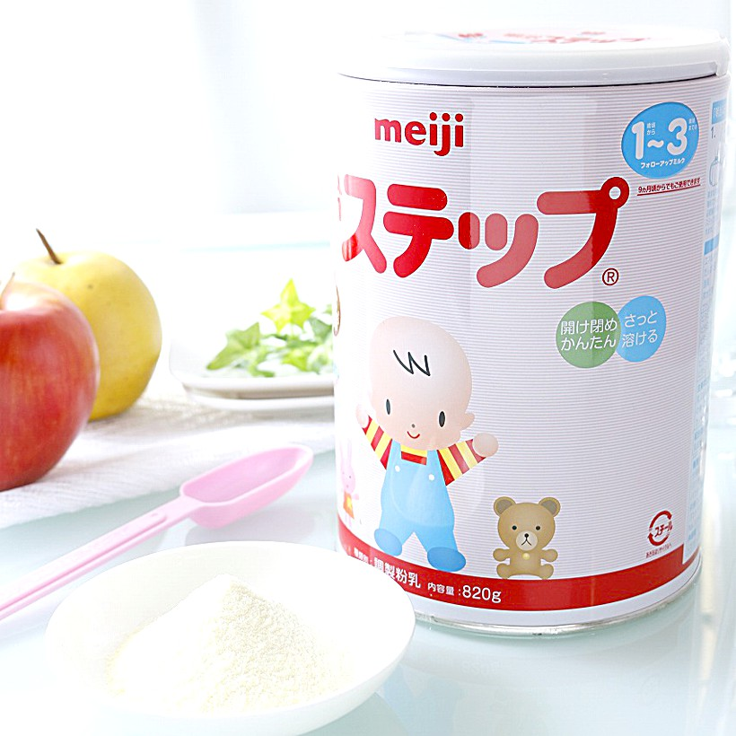 Meiji Step Powder milk 820g (Big Can)